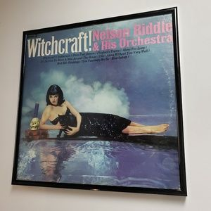 Framed Witchcraft LP Vinyl Record Sleeve Wall Art